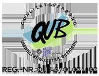 Wir haben das Gütsegiel Qualitätsverbund umweltbewusster Betriebe erworben