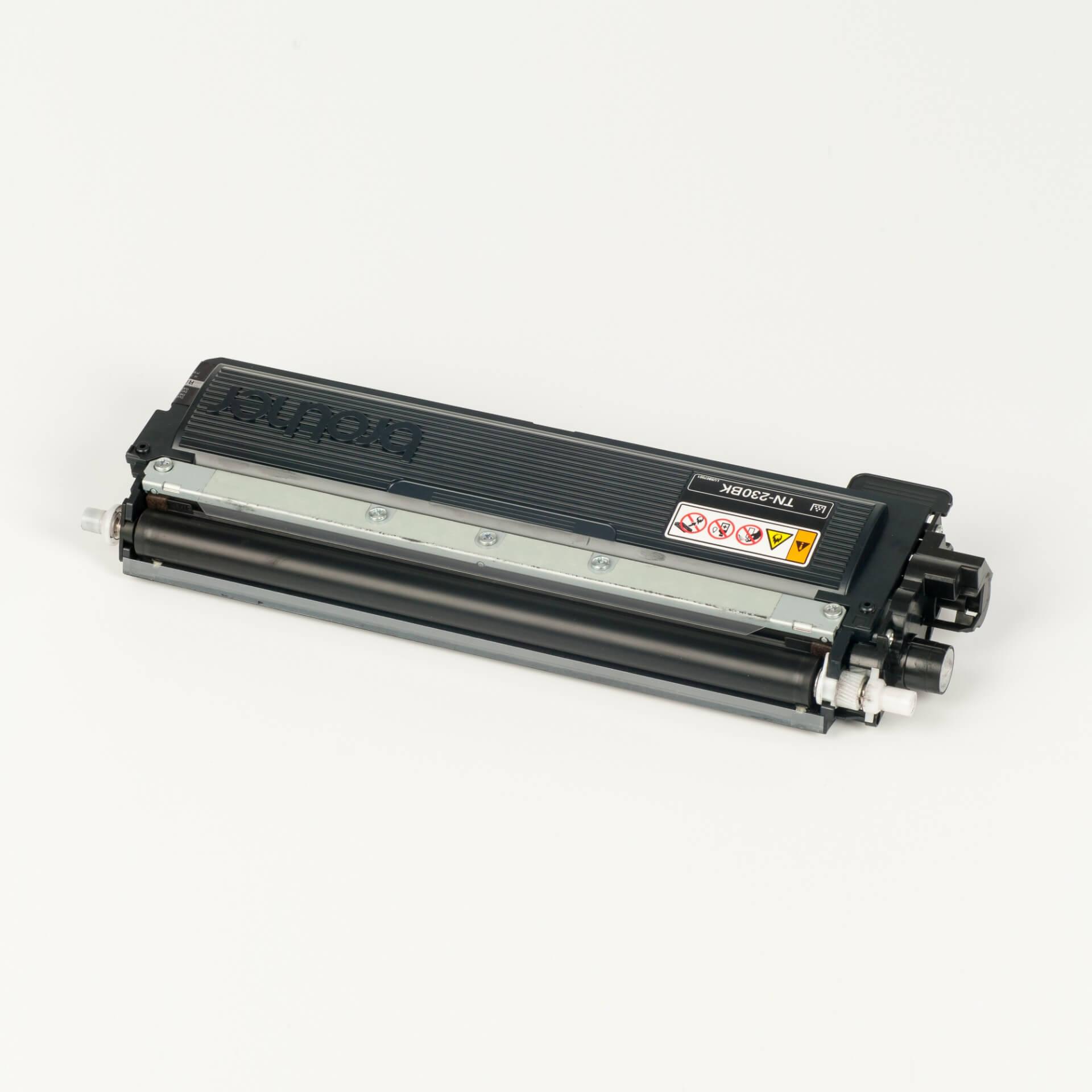 Auf dem Bild sehen Sie eine Brother TN-230BK Schwarz Original Tonerkassette