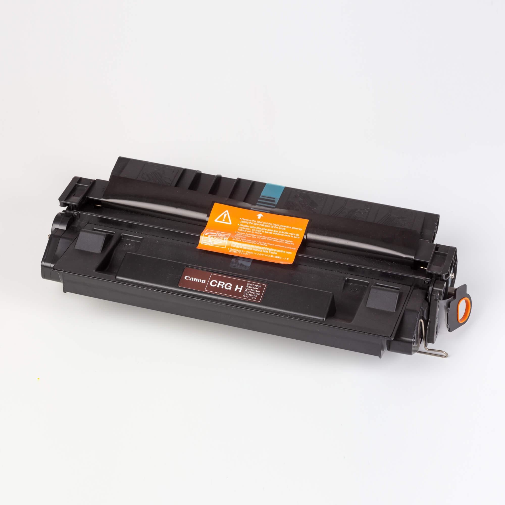 Auf dem Bild sehen Sie eine Canon 1500A003 Cartridge H Original Tonerkartusche schwarz