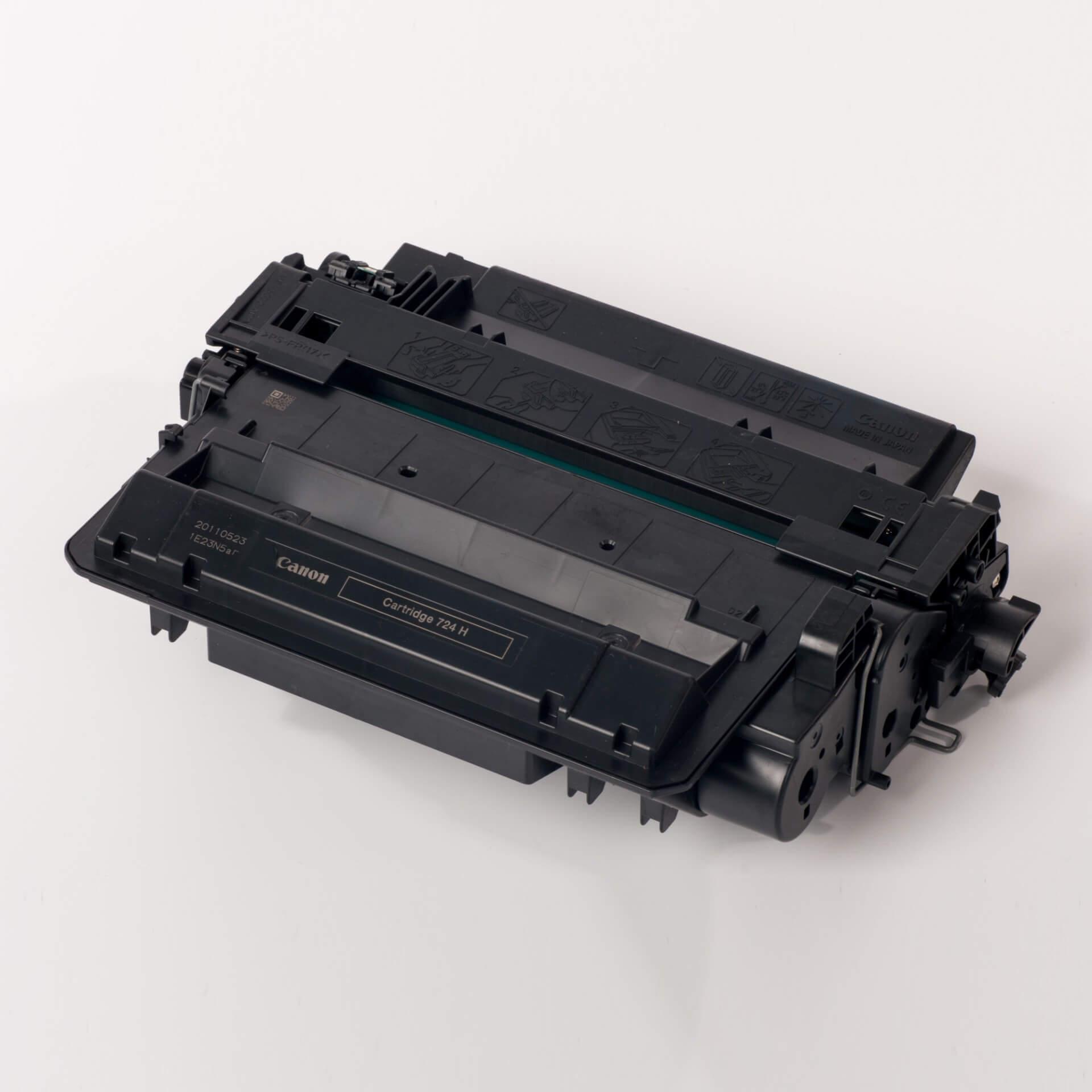 Auf dem Bild sehen Sie eine Canon 3482B002 724H Original Tonerkartusche Schwarz