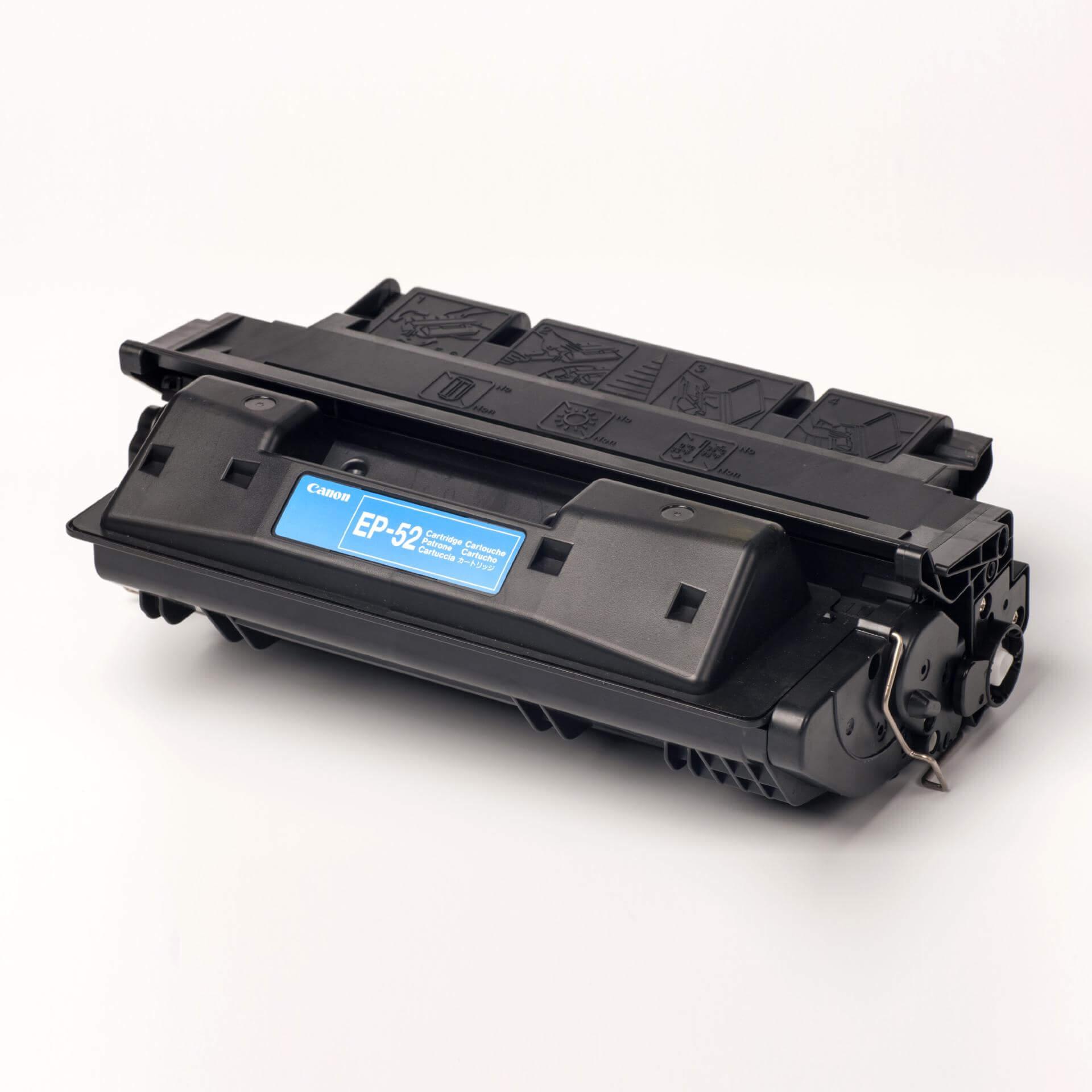 Auf dem Bild sehen Sie eine Canon 3839A003 EP-52 Original Tonerkartusche schwarz