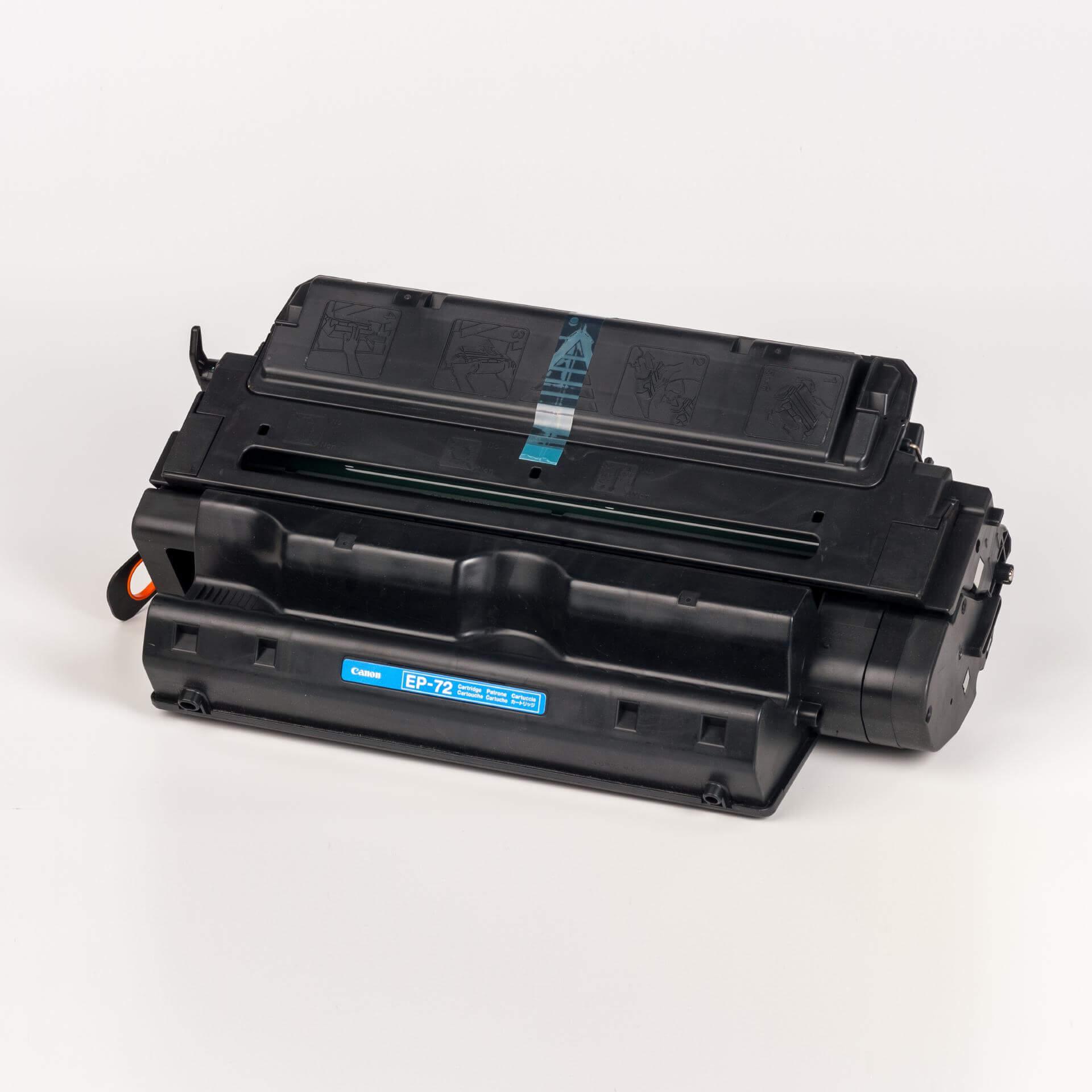 Auf dem Bild sehen Sie eine Canon 3845A003 EP-72 Original Tonerkartusche schwarz