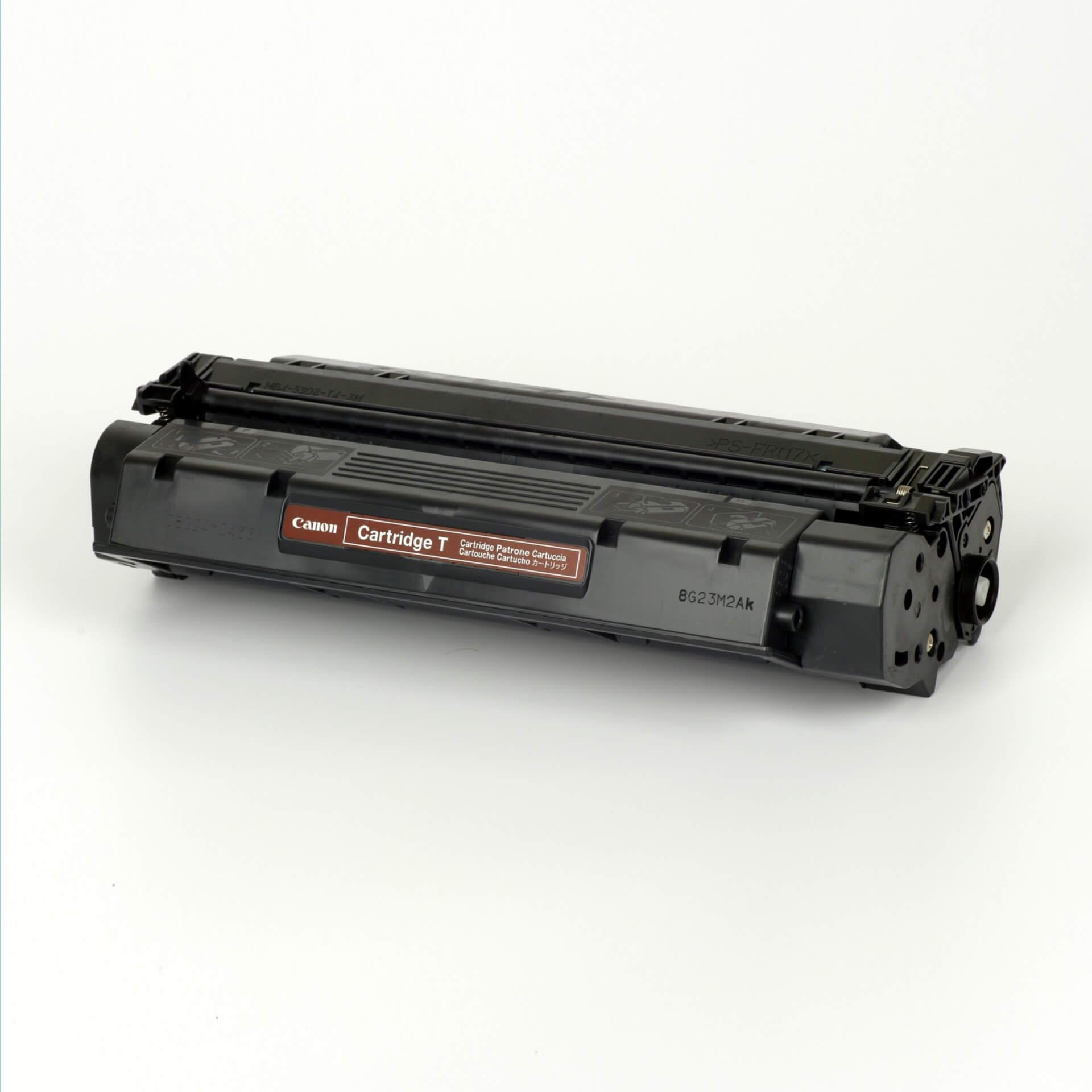 Auf dem Bild sehen Sie eine Canon 7833A002 Cartridge T Original Tonerkartusche schwarz
