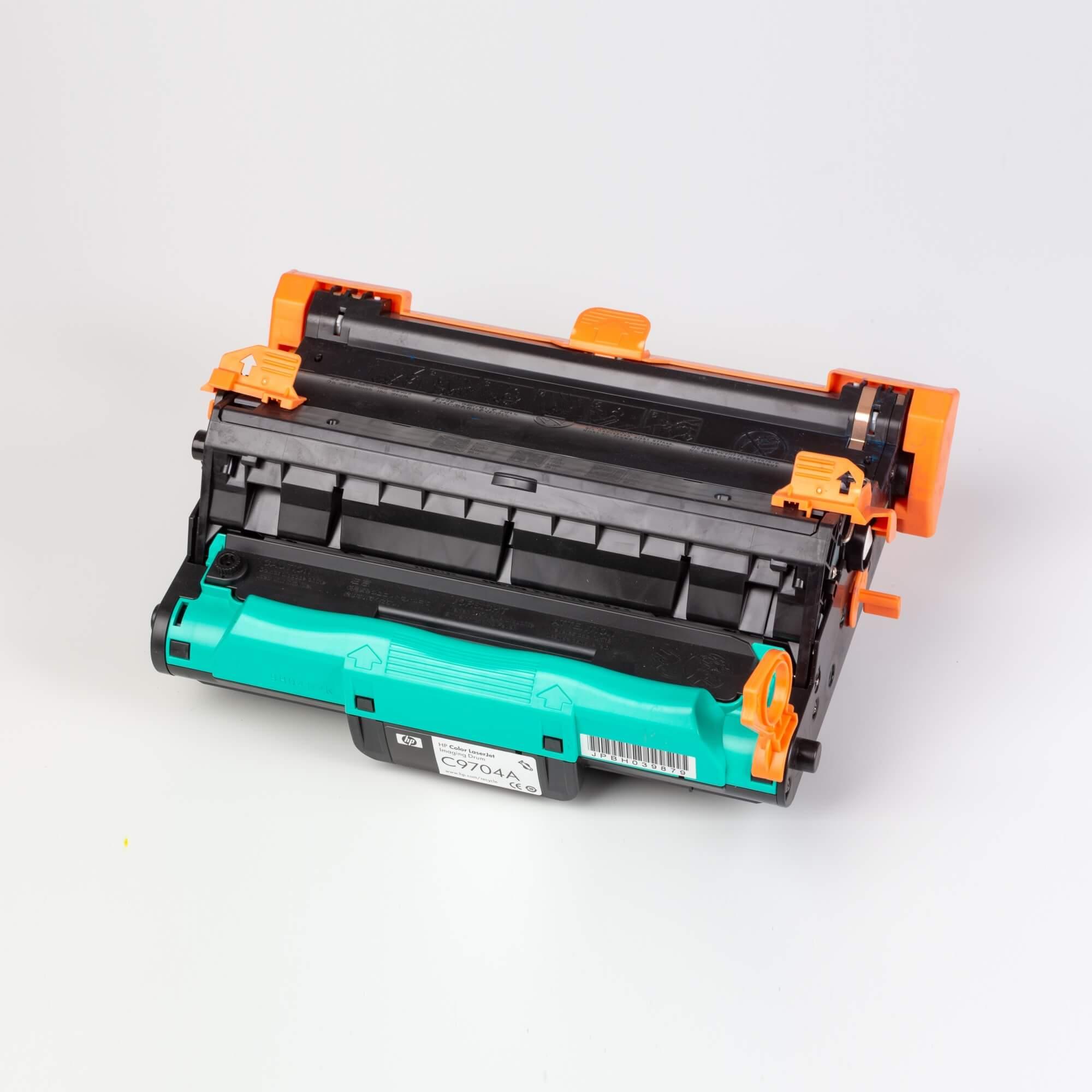 Auf dem Bild sehen Sie eine Hewlett Packard C9704A Druckwalzen-Kit