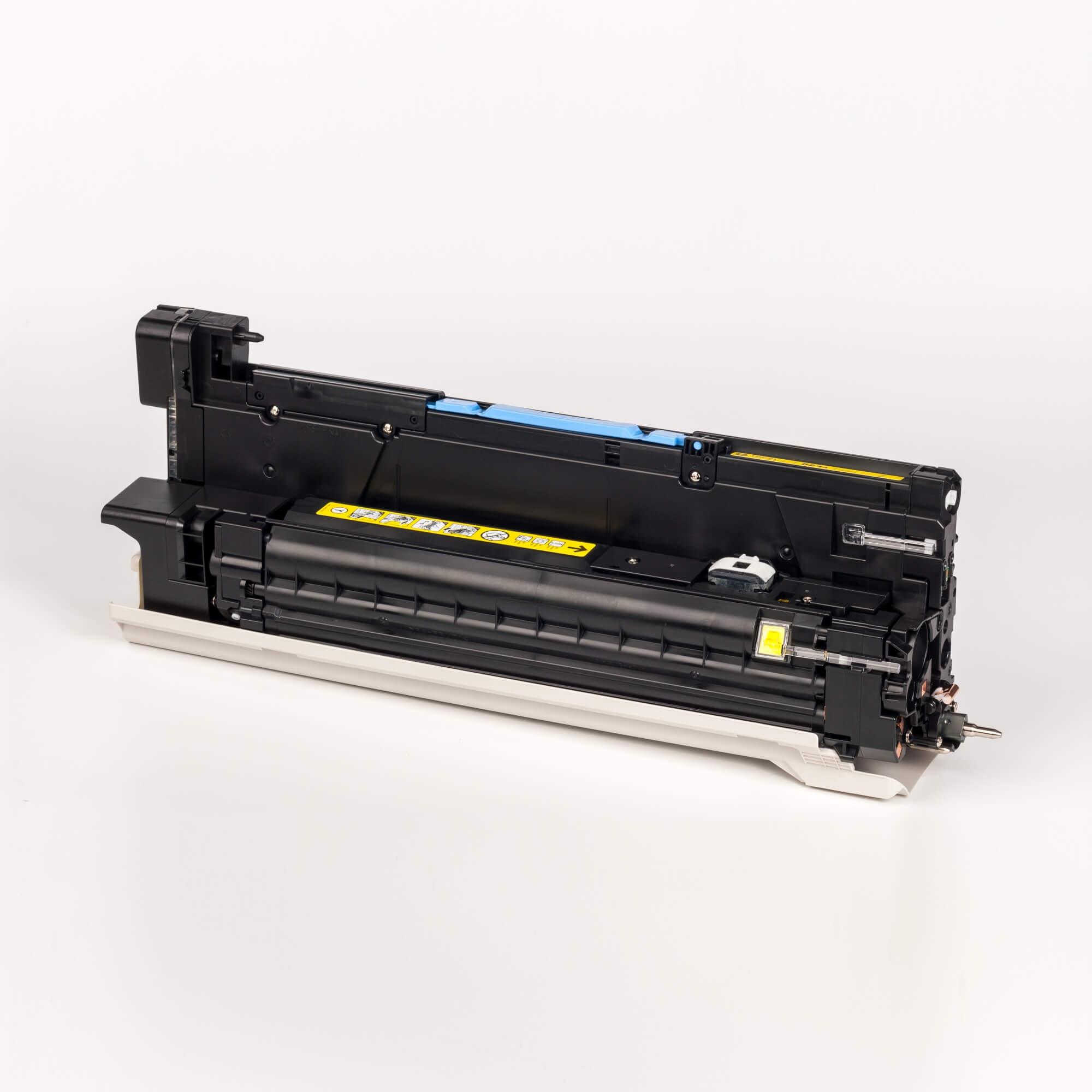 Auf dem Bild sehen Sie eine HP 824A (CB386A) Yellow Original Bildtrommel