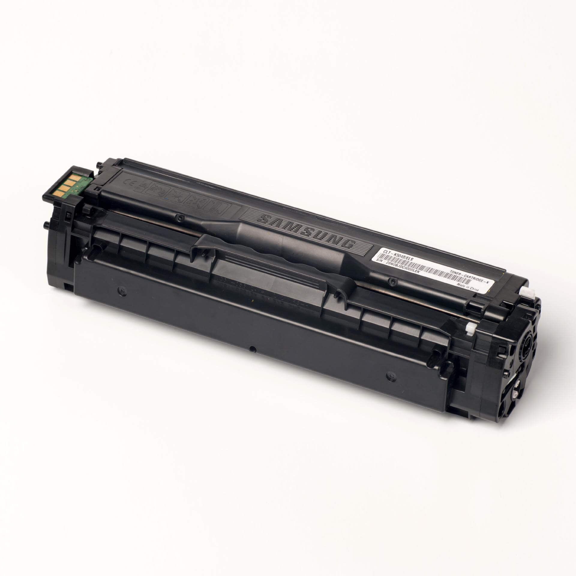 Auf dem Bild sehen Sie eine Samsung CLT-K504S/ELS Original Toner Schwarz