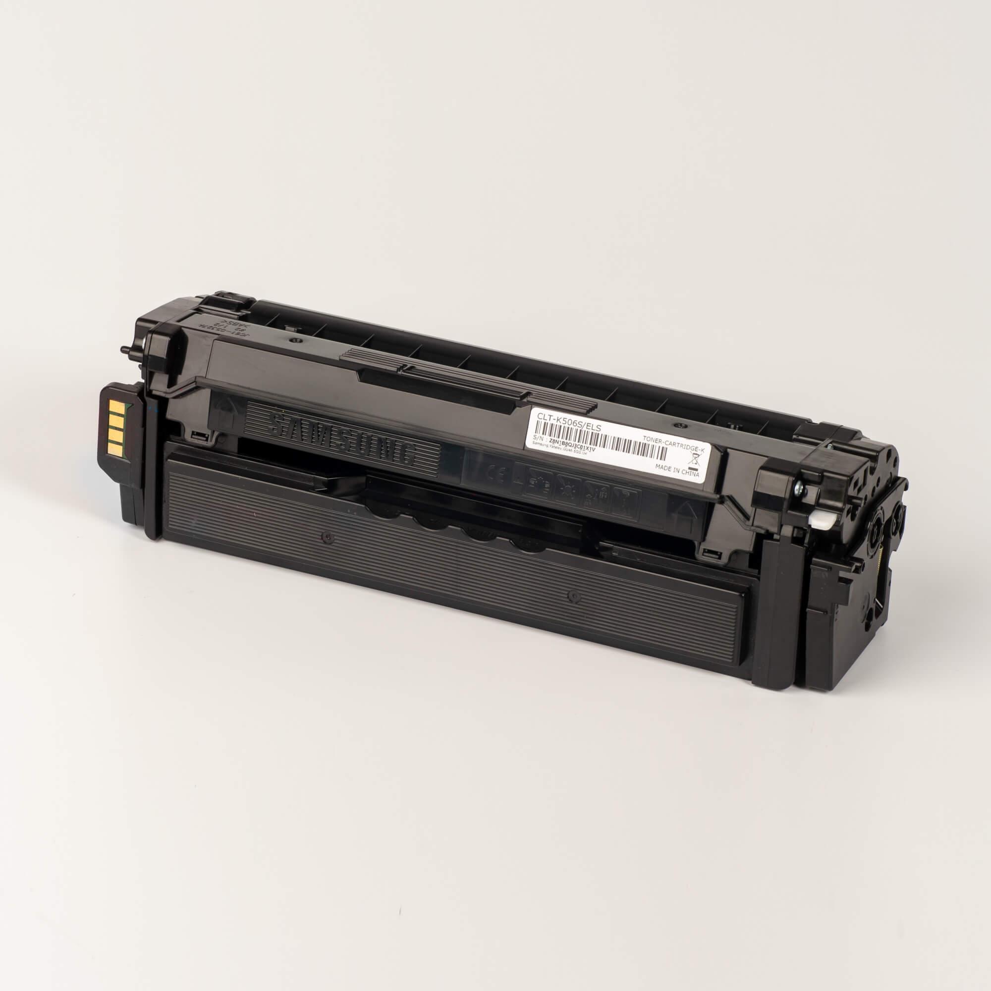 Auf dem Bild sehen Sie eine Samsung CLT-K506S/ELS Original Toner schwarz