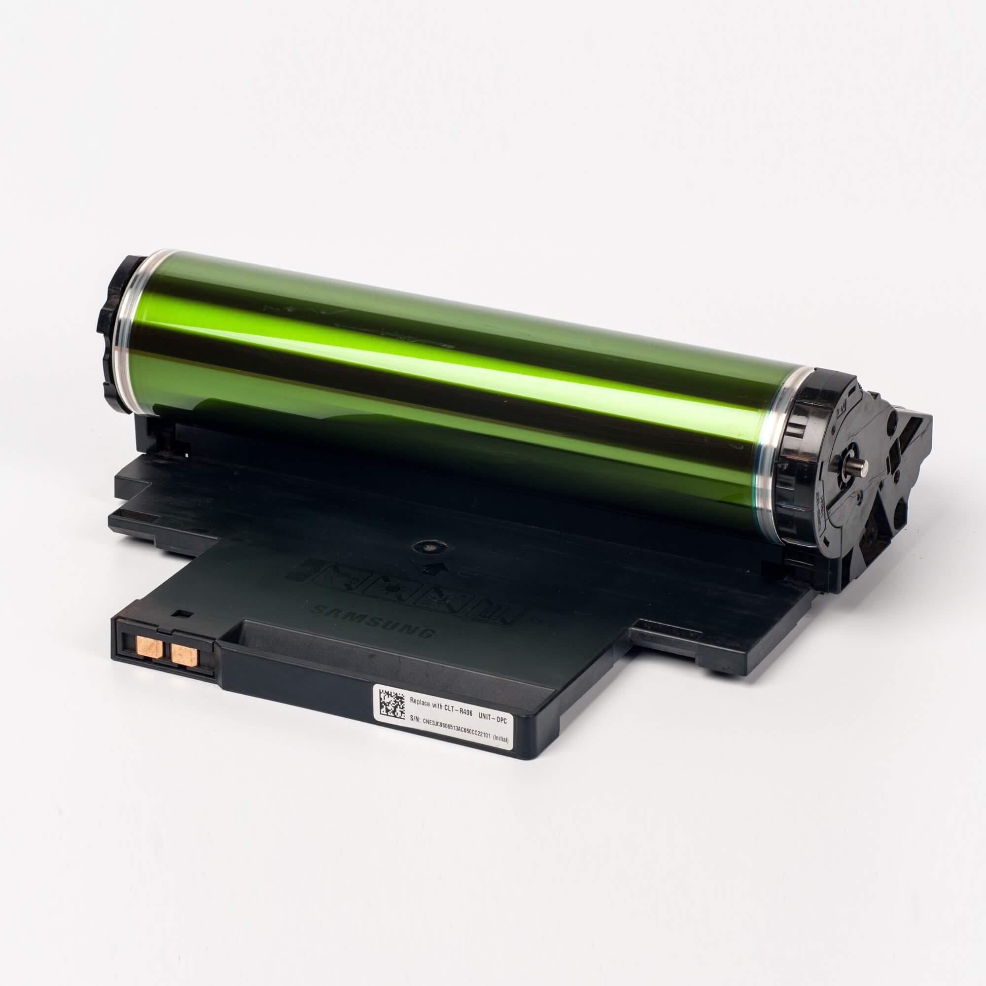 Auf dem Bild sehen Sie eine Samsung CLT-R406E/SEE Original Belichtungseinheit
