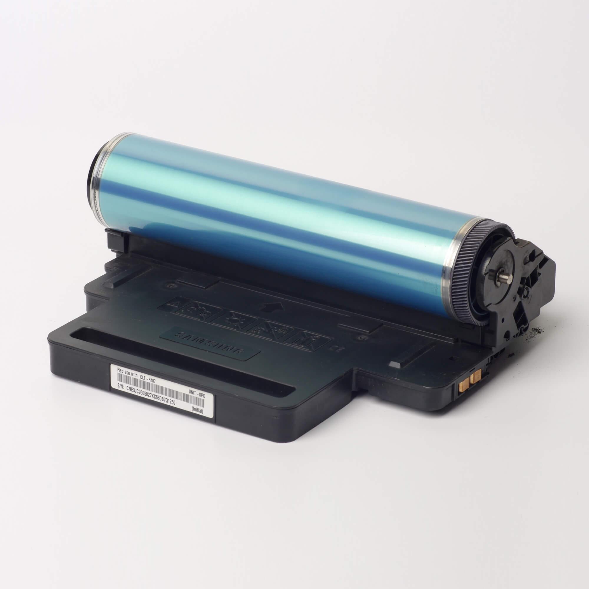 Auf dem Bild sehen Sie eine Samsung CLT-R407E/SEE Original Belichtungseinheit